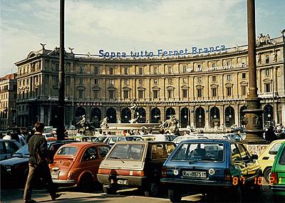 共和国広場 Piazza della Repubblica