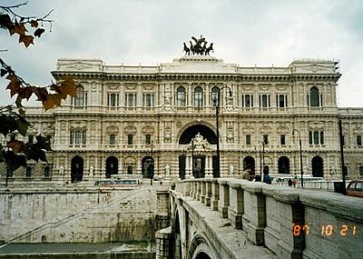 裁判所 Palazzo di Giustizia di Roma