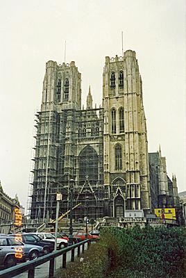 サン・ミッシェル大聖堂 Cathedrale S.S. Michel et Gudule