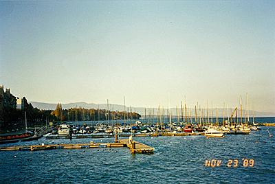 レマン湖 Lac Léman