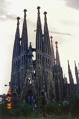 サグラダ・ファミリア Temple Expiatori de la Sagrada Familia