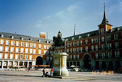 マヨール広場 Plaza Mayor