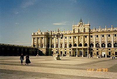 マドリード王宮 Palacio Real de Madrid
