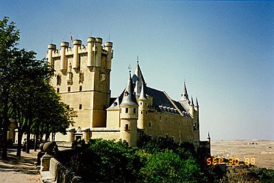セゴビア城 Alcázar de Segovia