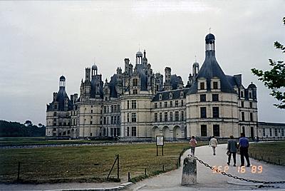 シャンボール城 Chateau de Chambord
