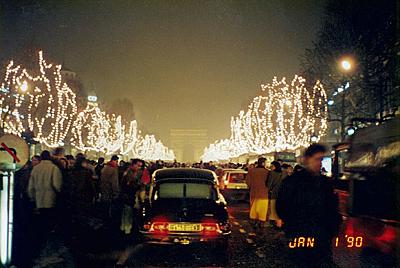シャンゼリゼ通り  L'Avenue des Champs-Elysees