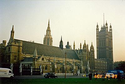 ウェストミンスター宮殿(現:議事堂) the Palace of Westminster