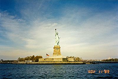 リバティ島 Liberty Island