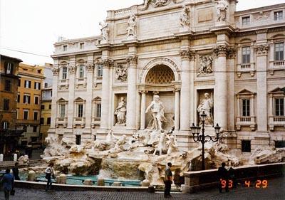 トレヴィの泉 Fontana di Trevi