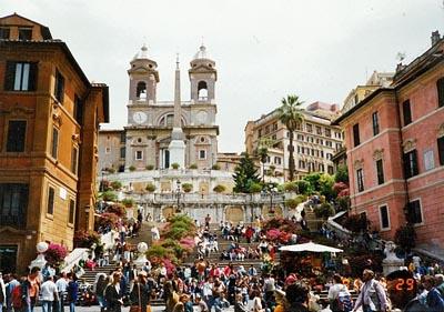 スペイン広場 Piazza di Spagna