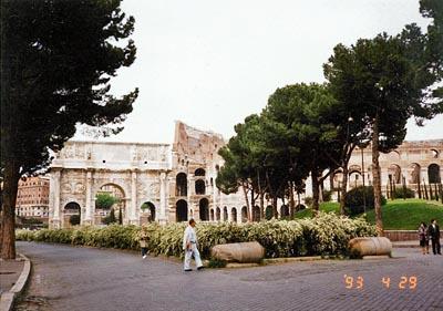 コンスタンティヌスの凱旋門 Arco di Costantino