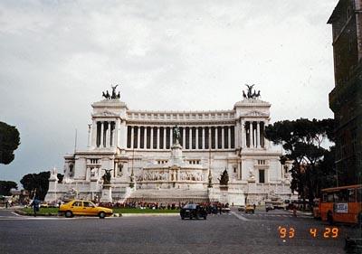 ヴィットーリオ・エマヌエーレ2世記念堂 Monumento Nazionale a Vittorio Emanuele II