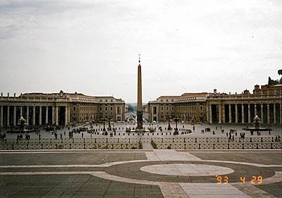 サン・ピエトロ広場 Piazza San Pietro