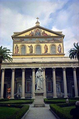 サンタ・マリア・イン・トラステヴェレ教会 Basilica di Santa Maria in Trastevere