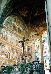 トルナブオーニ礼拝堂 Cappella Tornabuoni